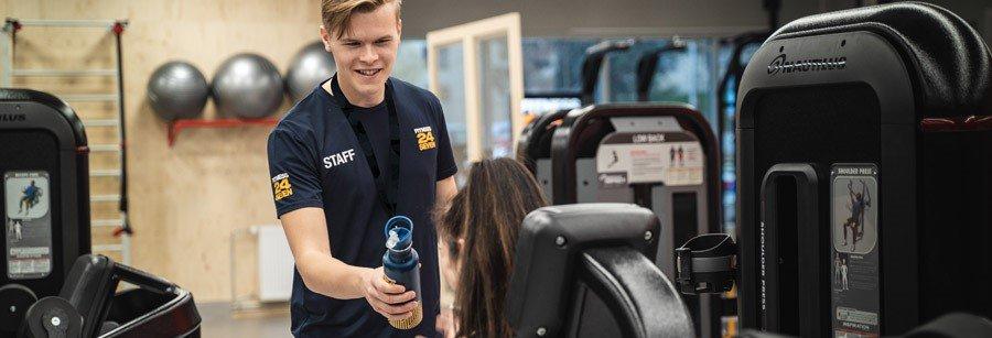 Jobba deltid 40% på Fitness24Seven i Masthugget