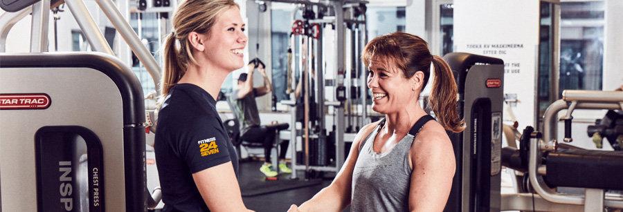 Jobba deltid på Fitness24Seven Gärdet i Stockholm
