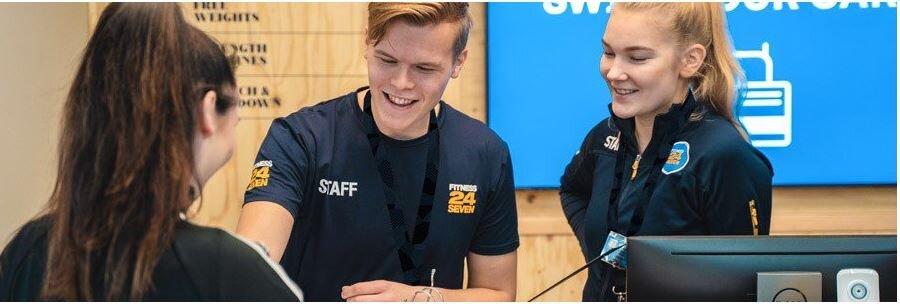 Jobba extra på Fitness24Seven i Fruängen