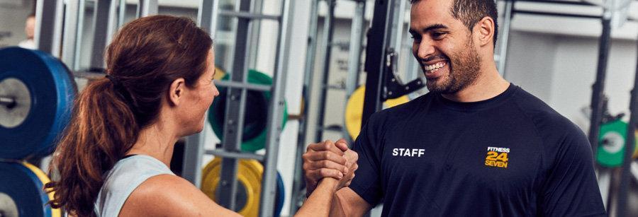 Jobba heltid som gymvärd på Fitness24Seven i Lund