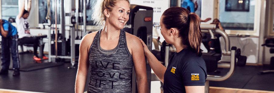 Deltid som gymvärd på Fitness24Seven i Göteborg