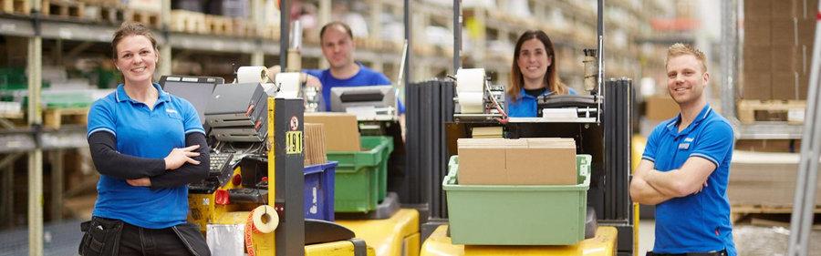 Produktionschefer till Ahlsell Logistikcentrum