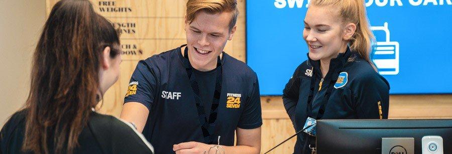 Jobba deltid på Fitness24Seven i Stockholm